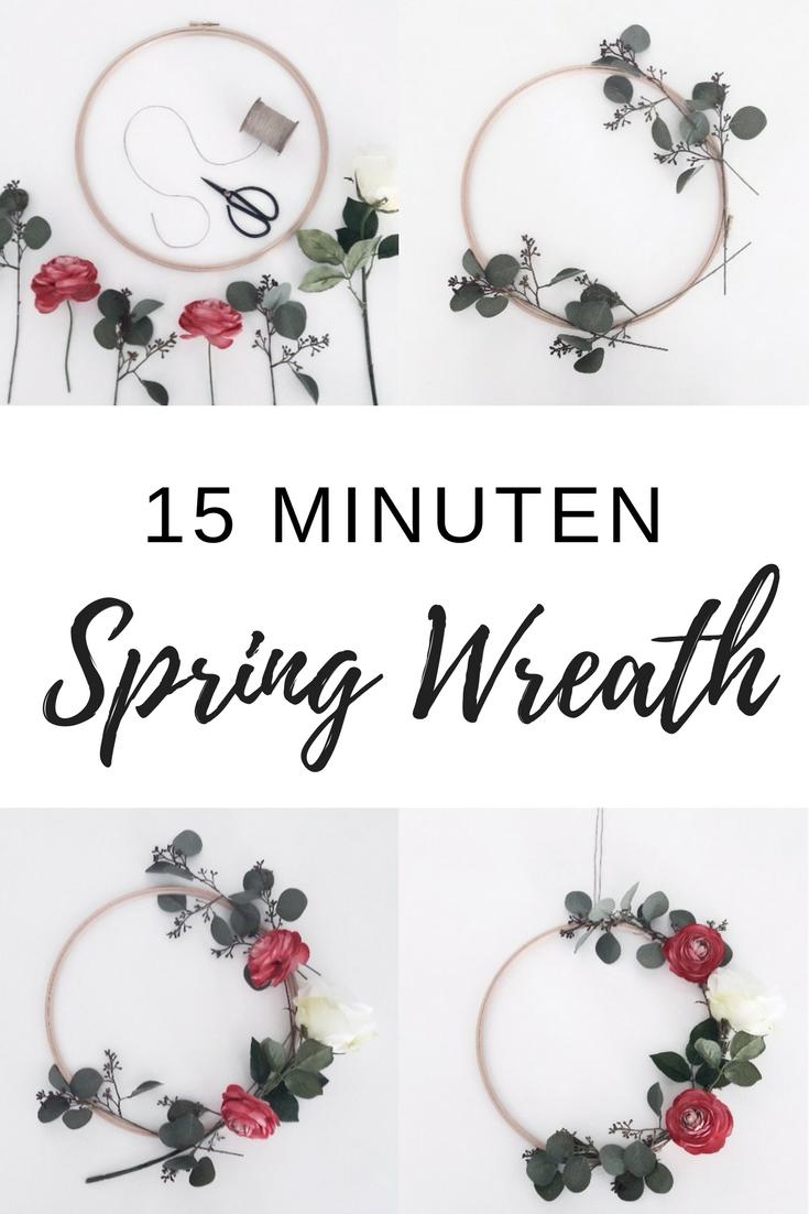 Photo of Wie ihr eurer Wohnung mit einem Spring Wreath einen frühlingshaften Touch verleiht