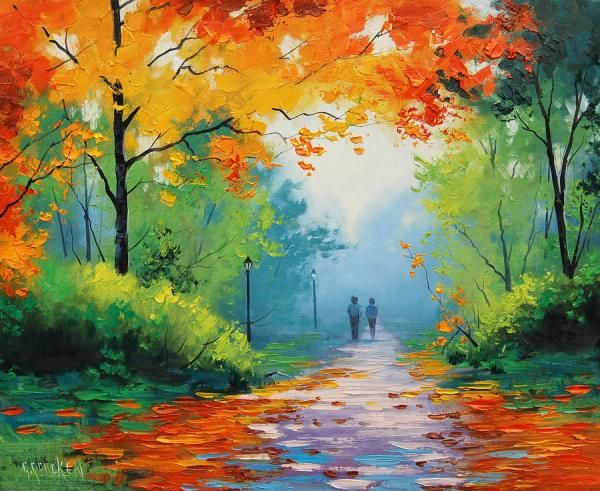 Beautiful Landscape Paintings By Graham Gercken Cuded Beautiful Landscape Paintings Autumn Painting Landscape Paintings