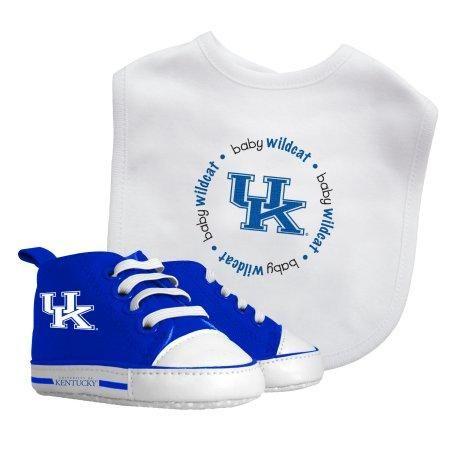NCAA Kentucky Wildcats Bib & Prewalker Baby Gift Set