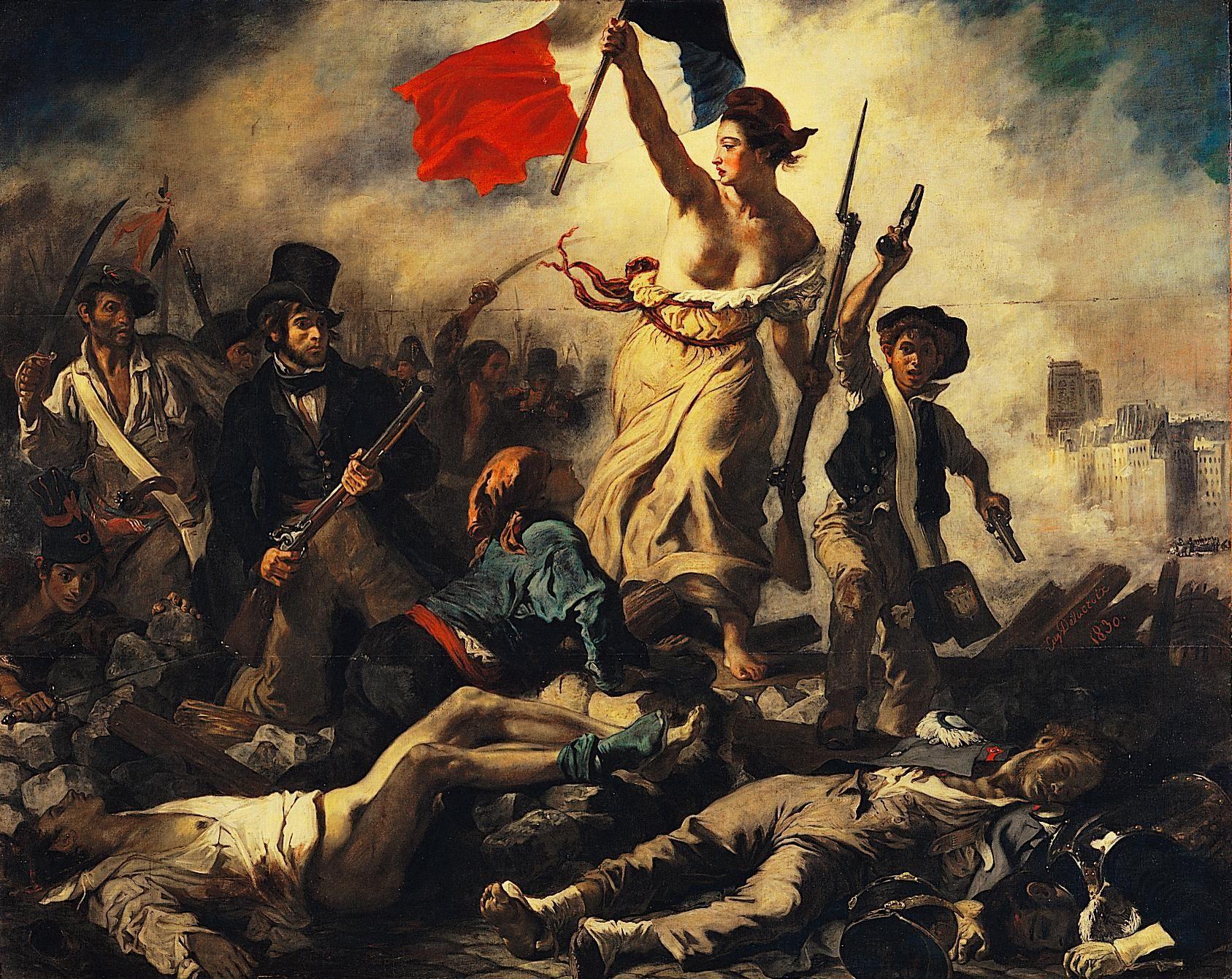 Louvre Lens : Delacroix's La Liberté guidant le peuple - French Revolution