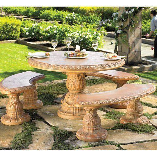 Woogadget Com Cement Garden Garden Furniture Garden Seating