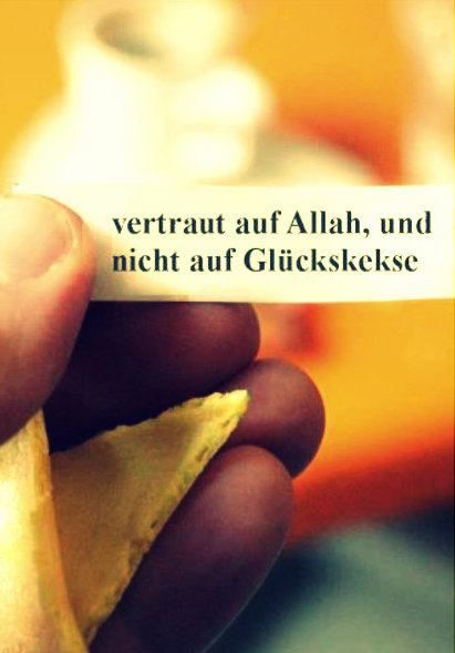 Vertraut Allah