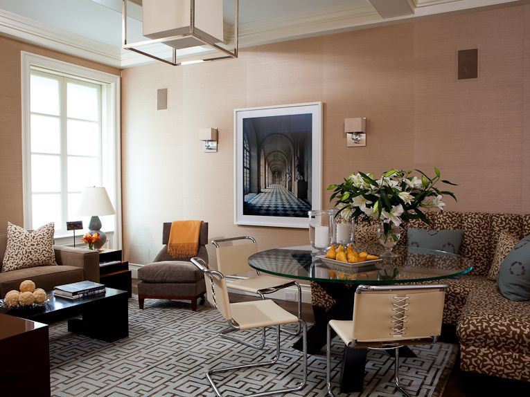 """""""My job as a designer is to create a room and deliver it to the client as a completed project. I always leave room, however, for the later addition of art or books. What most clients don't see is the strategic planning that goes into design."""" - Eric Cohler #EricCohlerDesign #Mixmaster #ECD #InteriorDesign"""