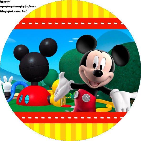 Casa De Mickey Etiquetas Para Candy Bar Para Imprimir Gratis Casa De Mickey La Casa De Mickey Mouse Mickey
