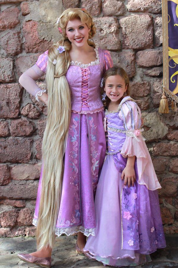 15++ Rapunzel cosplay dress info