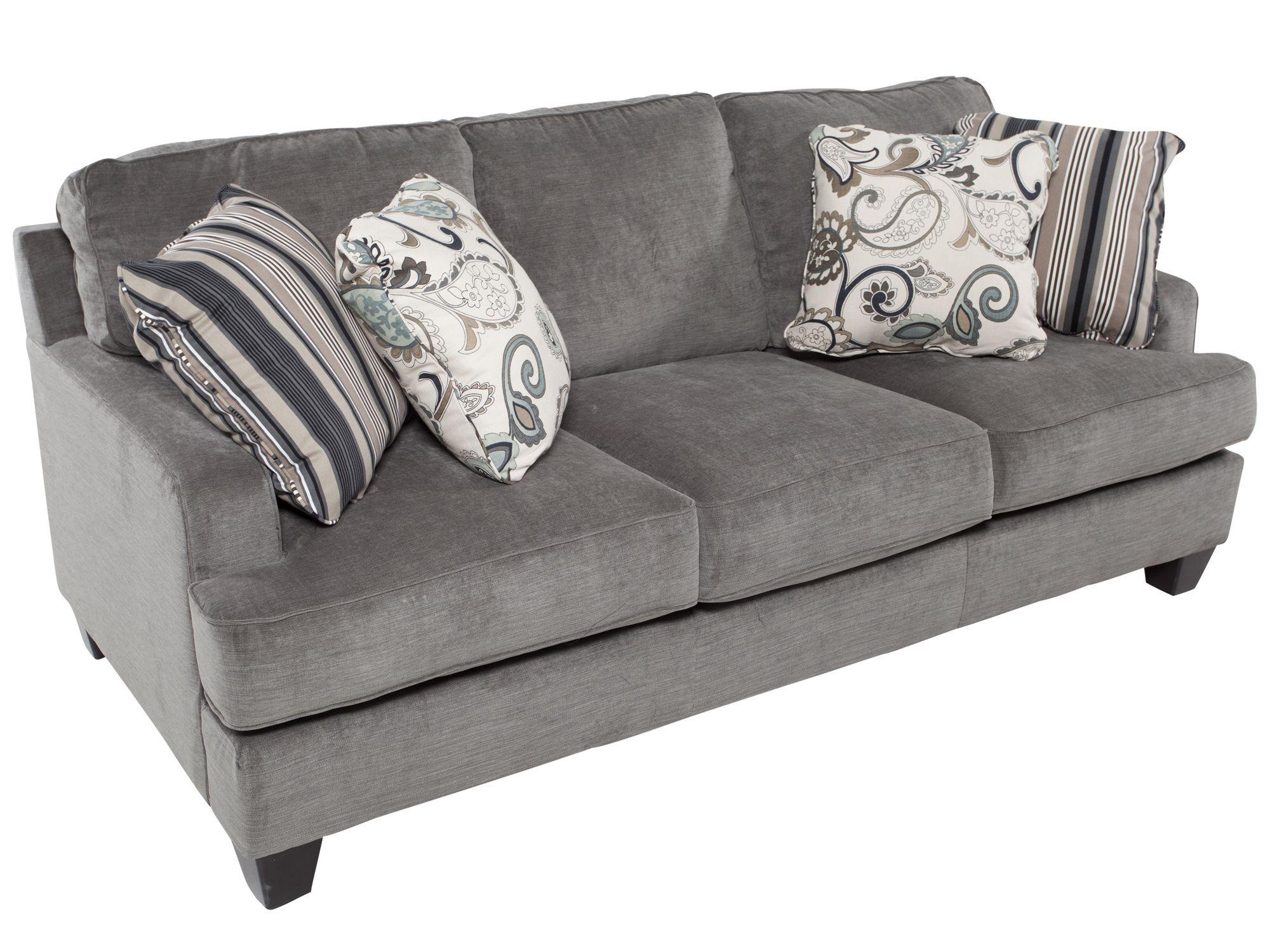 Sofa yes pillows no Ashley Furniture Entice Mist sofa $500
