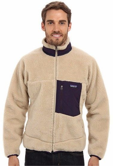 6758f9de3 PATAGONIA retro x fleece jacket windstopper sherpa shearling oatmeal ...