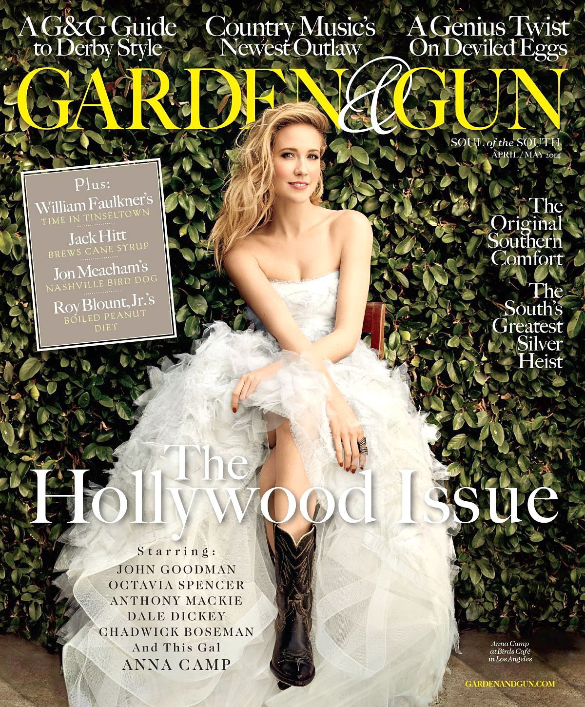 Perfect Bride Anna Camp Wears Wedding Dress For Garden And Gun