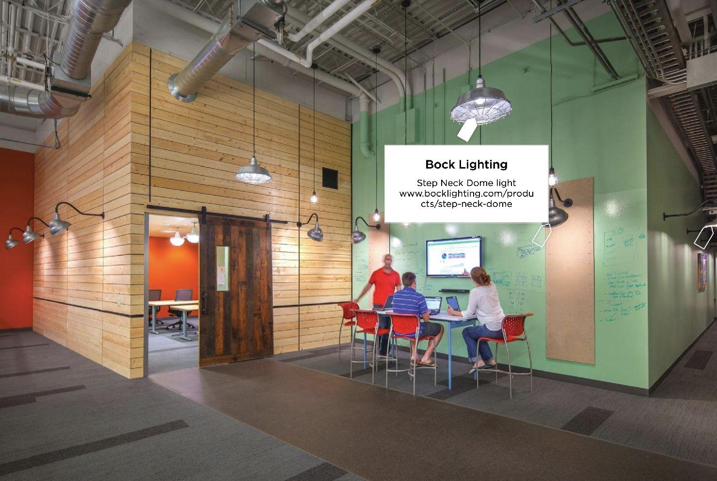 Bock Lighting Paradigm Office Design Mortarr Com Office Space Design Office Space Corporate Commercial Design