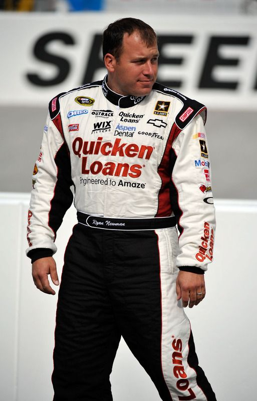Ryan Newman----2013 winner of the Brickyard 400. He's originally from South Bend, Indiana.