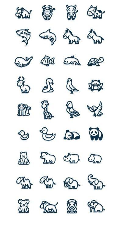 Tattoo Drawings On Paper Small: Resultado De Imagem Para Minimalist Tattoos Animals