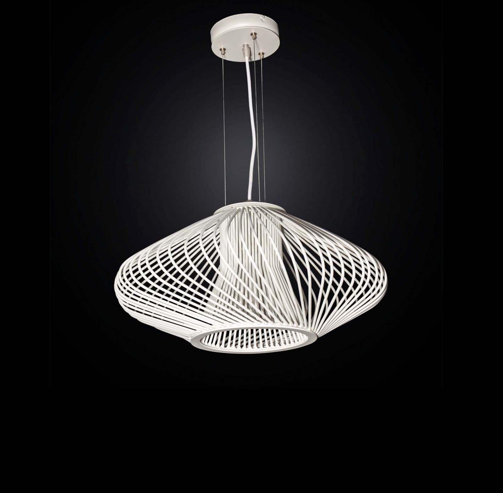 Lampadario Moderno Design.Lampadario Moderno Design Bianco Sfera A 5 Luci Bga 3026 S50