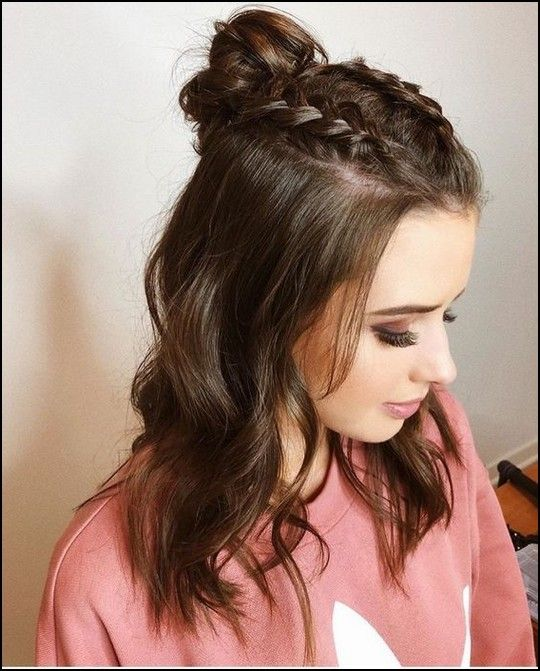 113 Cute Easy Braided Hairstyles For Beautiful Women Telorecipe212 Com Braided Hairstyles Easy Meduim Length Hair Braided Hairstyles