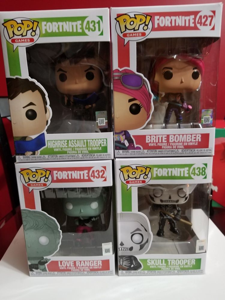 Funko Pop Fortnite Bundle Gamestop Exclusive Bonus Pop
