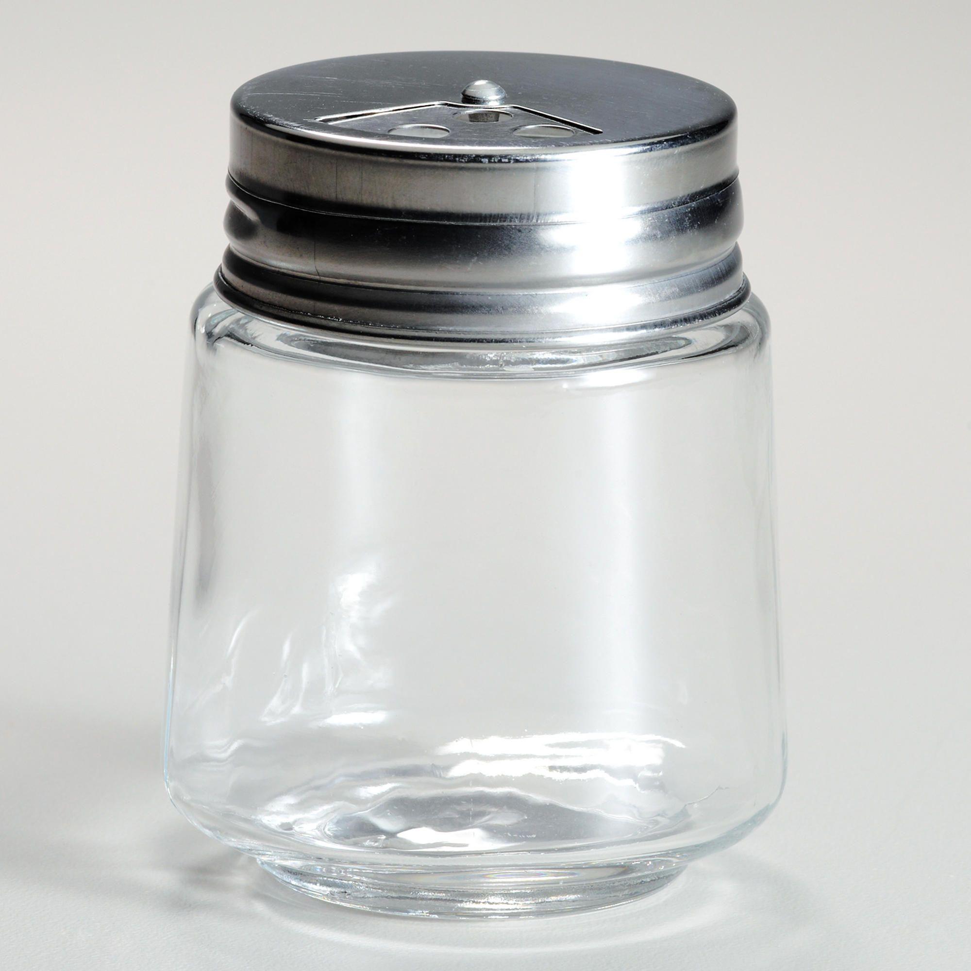 Cylinder Spice Jars with Metal Shaker Lids, Set of 4 | World Market