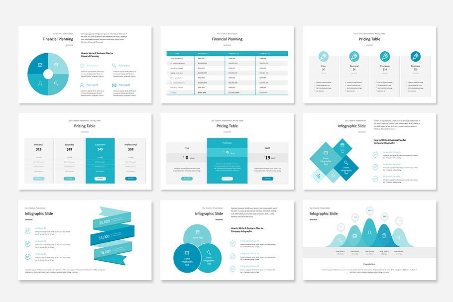 Ad Business Plan PowerPoint Template by WhiteGraphic on