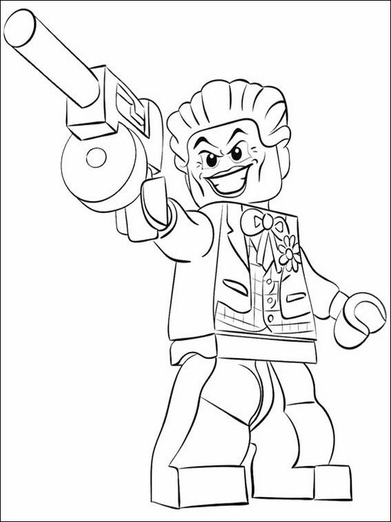 Lego batman coloring pages 21 coloring pages for kids for Lego batman 2 coloring pages