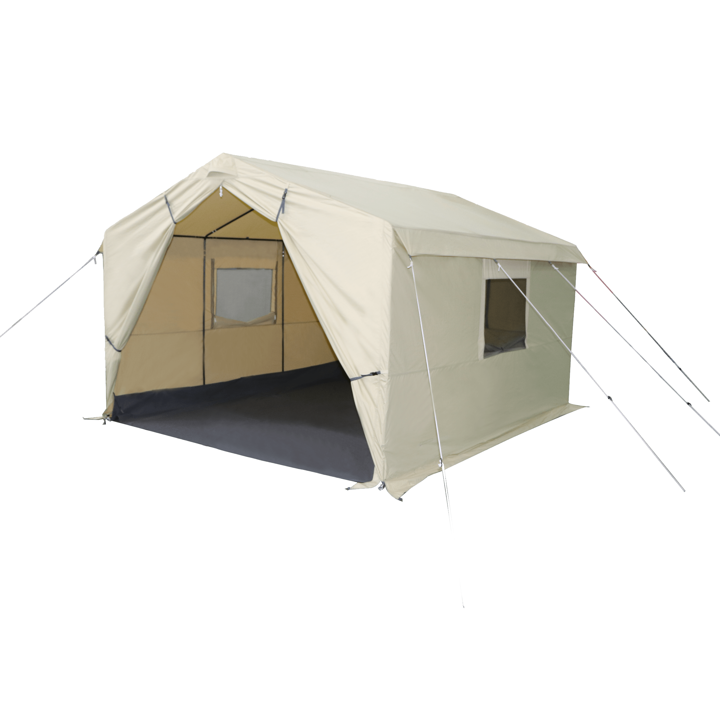 Ozark Trail North Fork 12 X 10 Wall Tent With Stove Jack Walmart Com Wall Tent Tent Glamping Tent Stove