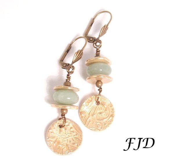 Felicity Jewelry Designs Handmade Bronze Earrings