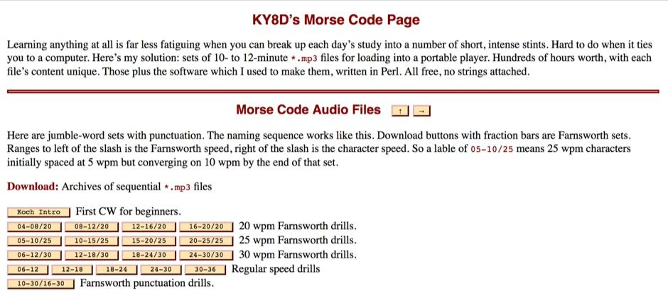 Morse Code Audio Files Radio Pinterest Audio and Morse code - morse code chart