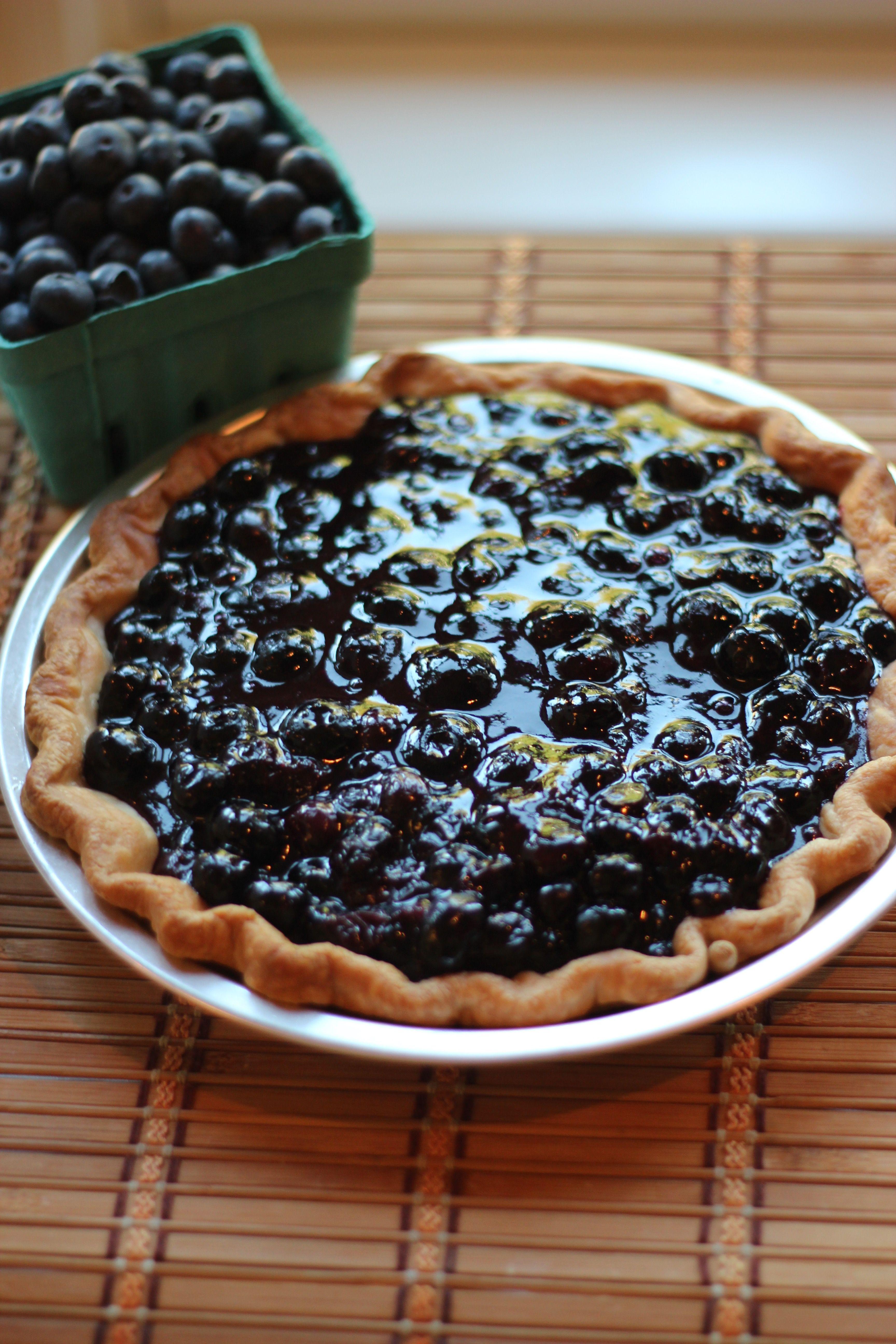 Fresh blueberry pie great easy recipe using summer