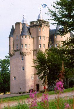 Craigievar Castle in Aberdeenshire is said  to be the inspiration of the Disney castle logo. Yeah, right. More interestingly, it was once the home of a spy who sold secrets to the Japanese, which had a direct bearing on the entry of the USA into World War II. Yes, really.