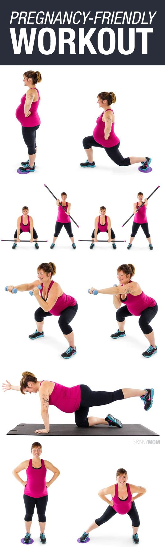 Keep fit and strong with this pregnancy workout!