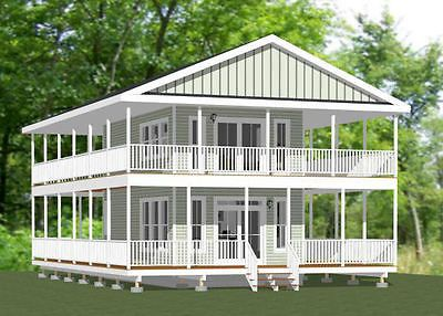 16x28 Tiny House 810 Sq Ft PDF Floor Plan Model 9