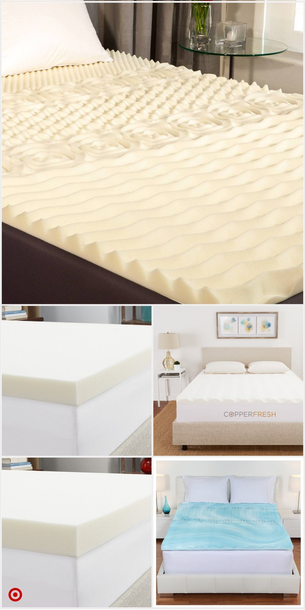 Shop Target For Mattress Toppers You Will Love At Great Low Prices Free Shipping On Orders Of 35 Or Free Same Day Pic Mattress Mattress Topper Mattress Pads