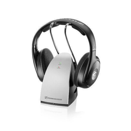 Sennheiser Rs120 Ii Rf Wireless On Ear Headphone With Uk Ireland Power Supply Cordless Headphones Wireless Headphones Sennheiser