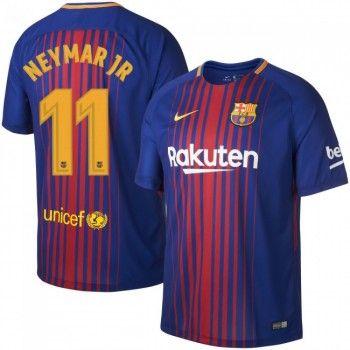 Barcelona Neymar Jr 11 Hemmatröja 17-18 Kortärmad  #Billiga #fotbollströjor