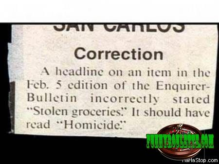 ROFL!!! Minor Correction
