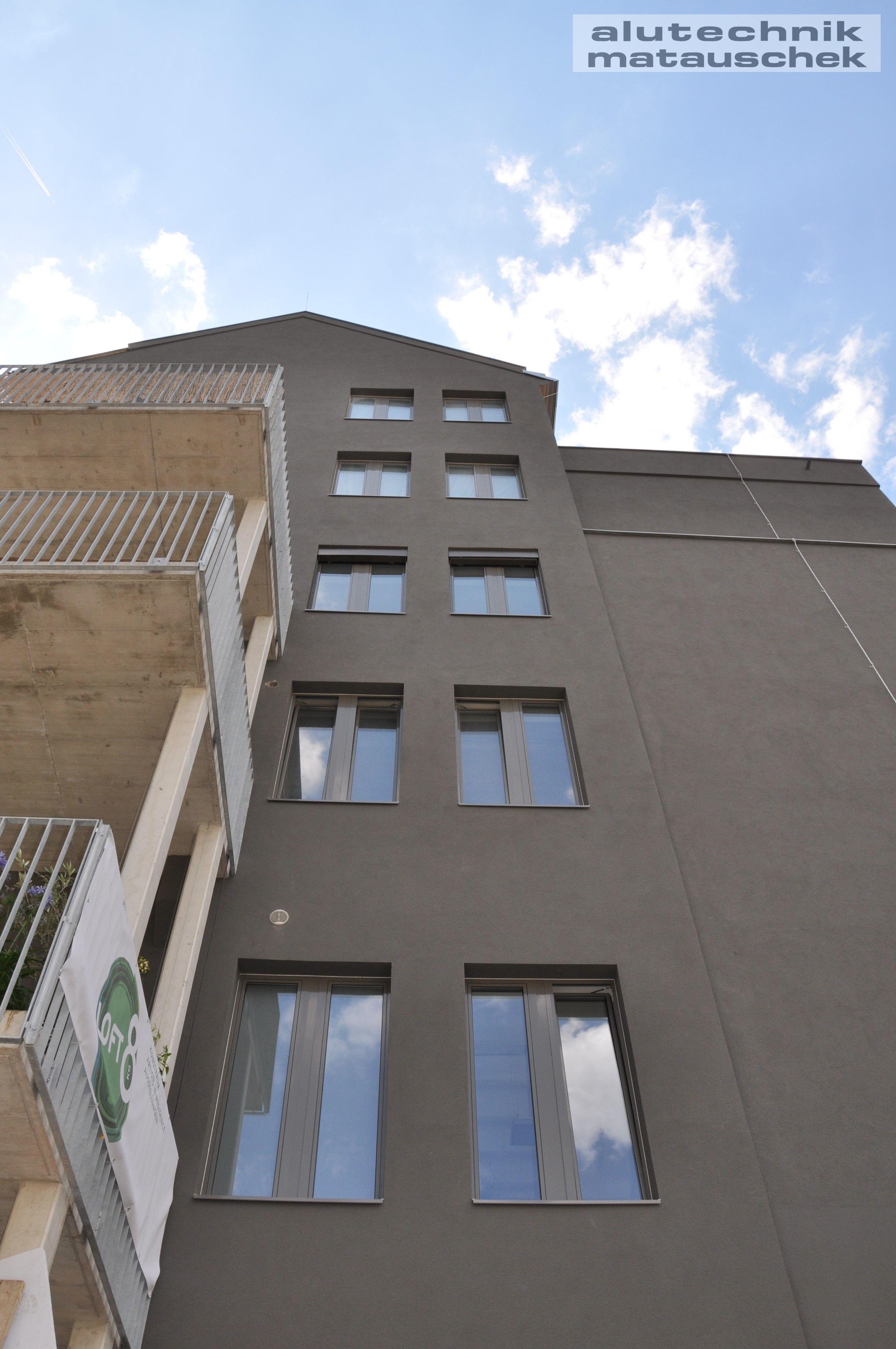 Bionium Aluminium Fenster treffen auf Loft City – Matauschek