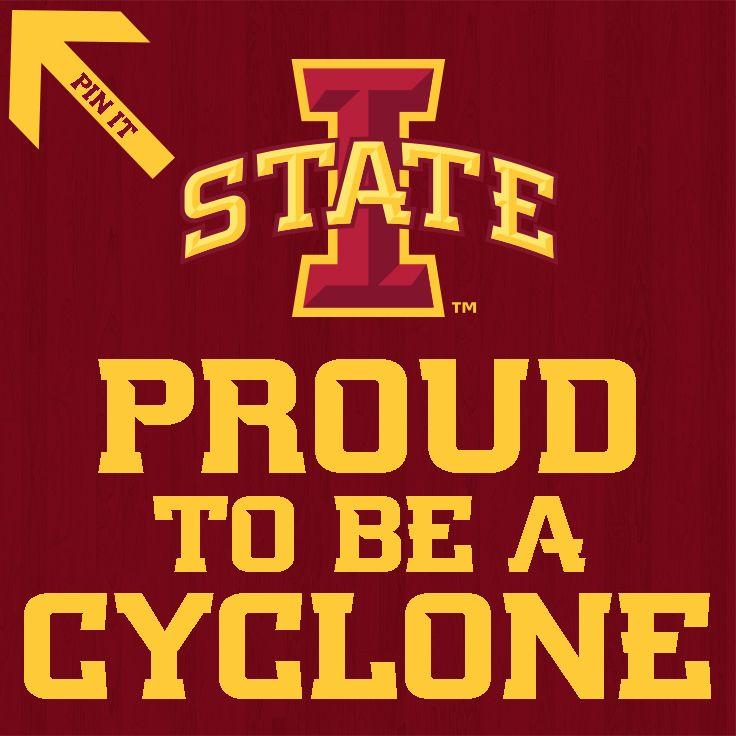 Repin to show your Cyclone Pride! Iowa state university