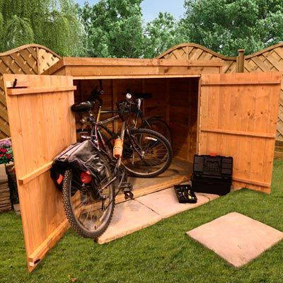 BillyOh 30 Pent Overlap Bike Store Mini Shed | MTB | Pinterest