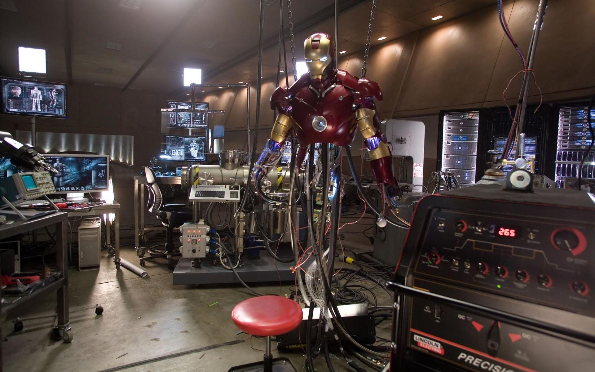 iron man office.  Iron Movie Iron Man Tony Stark Wallpaper For Office