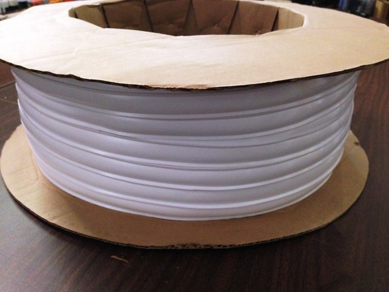 100 Foot Roll Of Wide Vinyl Interior/exterior Automotive Grade Trim Molding.  This Vinyl Trim Is Used To Cover Screw Heads On Your RV.