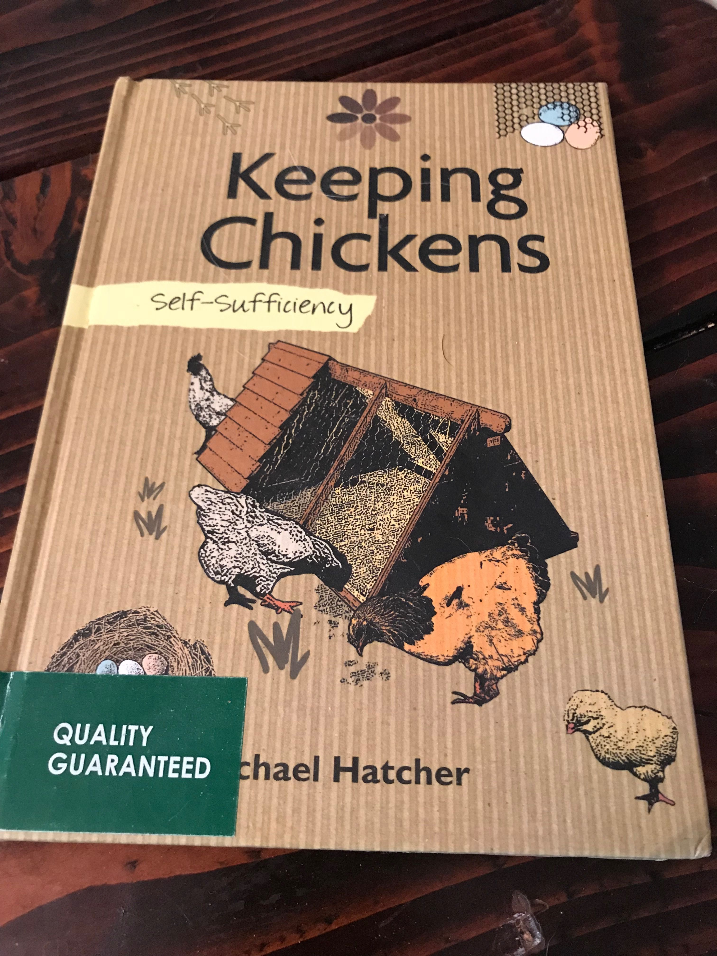 My first book on chickens so helpful keeping chickens