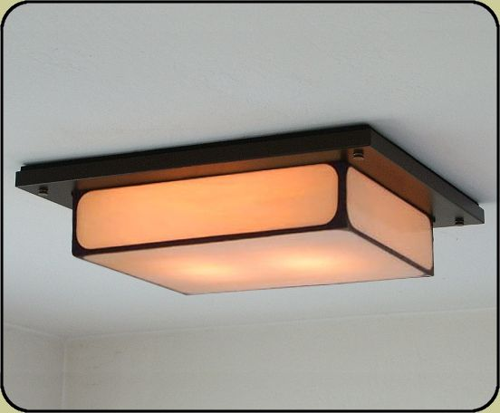 Mission Style Ceiling Light 704 Ceiling Lights Light