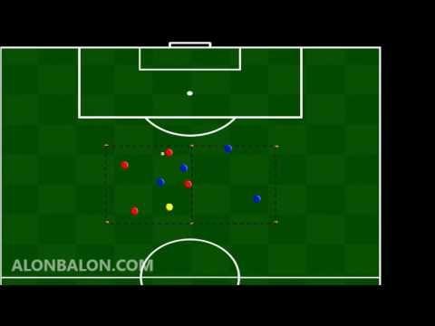Rondo 9 Jugadores 2 Entrenamientos De Futbol Soccer Youtube Soccer Field