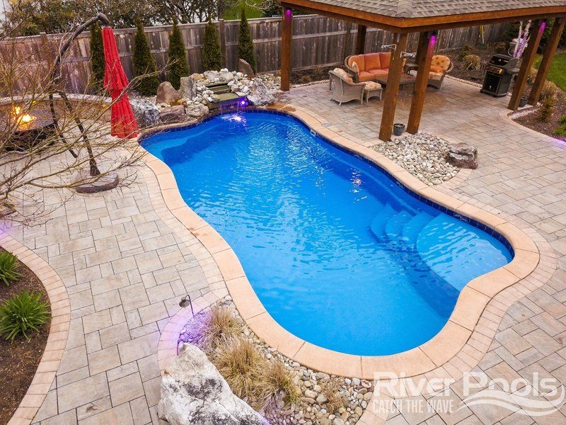 Inground Pool Coping Idea And Cost Guide Pools Backyard Inground Inground Pool Coping Swimming Pool Installation