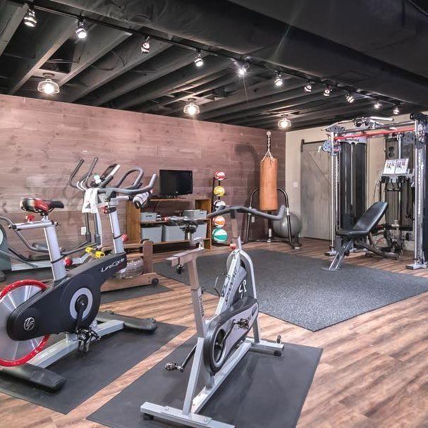 Home Gym Design Ideas Basement: Home Gym Decor, Home Gym Basement