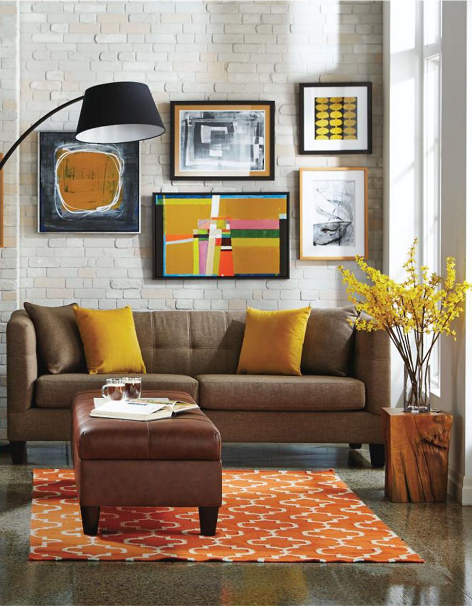 Touch Of Yellow Charles Sofa  Hudson's Bay  Home  Pinterest Interesting Interior Design For Living Room Decorating Inspiration
