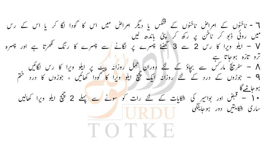 Uses And Benefits Of Aloe Vera In Urdu Aloe Vera Skin Vera