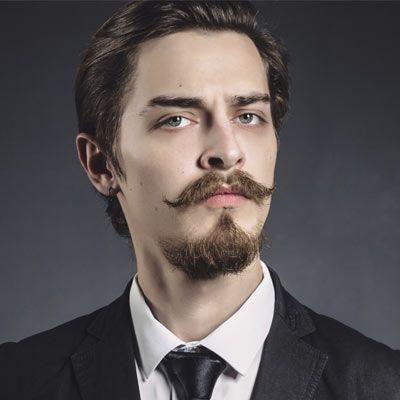 Facial hair styles van dyke