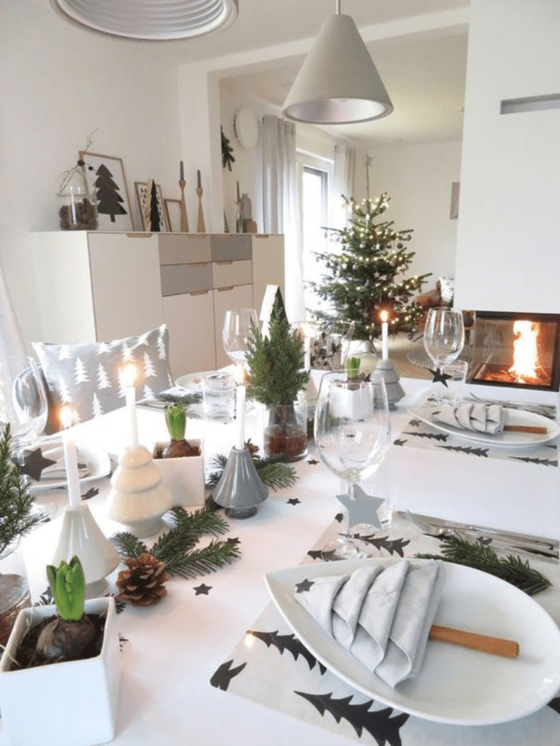 30 inspira es para mesa de natal bangal da tati pinterest. Black Bedroom Furniture Sets. Home Design Ideas