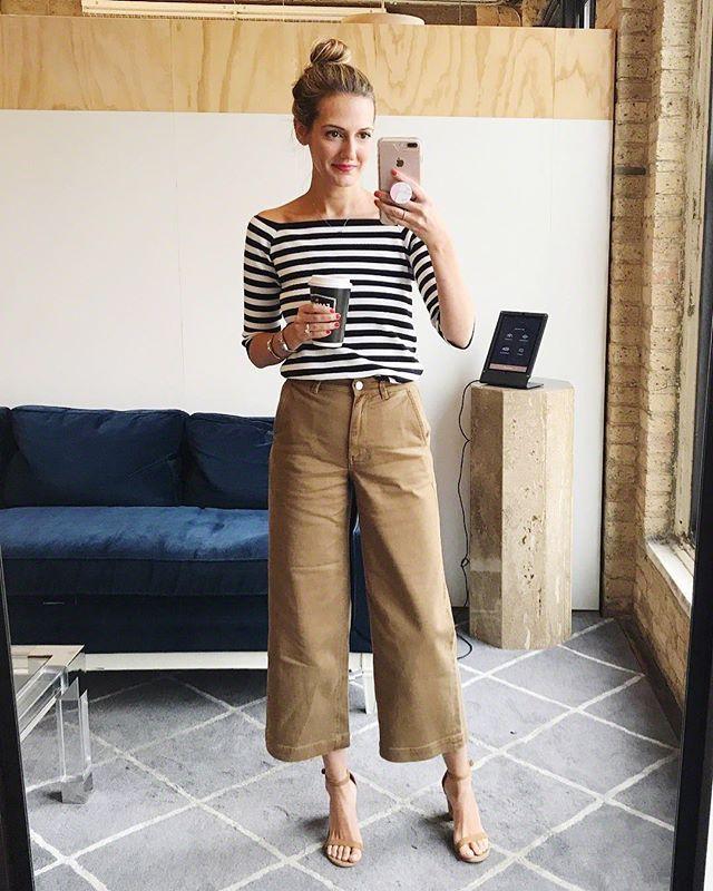 How To Wear Crop Wide Leg Pants Fashion Wide Leg