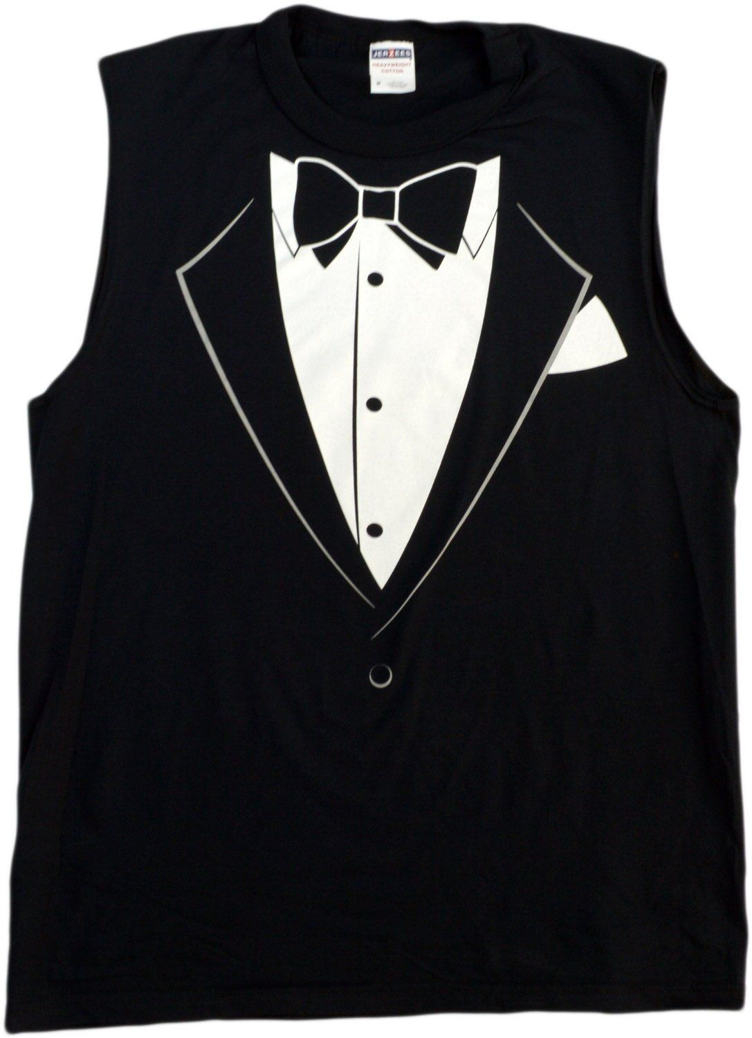 SLEEVELESS TUXEDO T-shirt / Funny Redneck Wedding, Bachelor Party ...