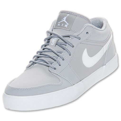 new product 32ee6 2d063 Men s Jordan AJV.2 Low Casual Shoes   FinishLine.com   Matte Silver White