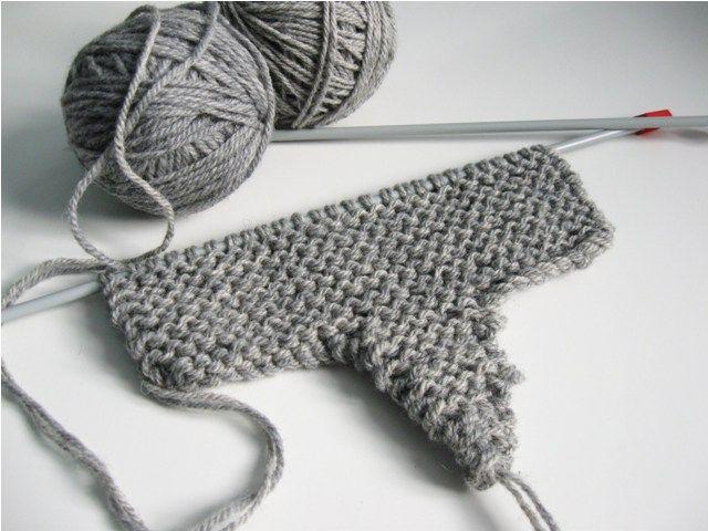 patron tricot simple
